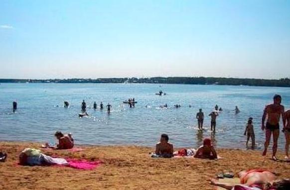 Мытищинское водохранилище пляж фото