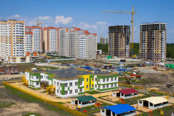 Россия наращивает темпы ввода жилья