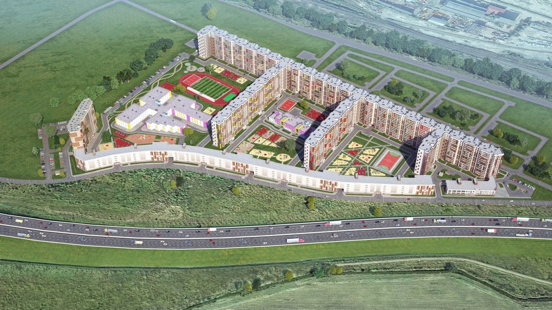 81de49cf4a804 Новый квартал от компании «ЦДС» состоит из 5 корпусов высотой 15 этажей.  Находится он в Московском районе, на Пулковском щоссе, рядом с выездом на  КАД и по ...